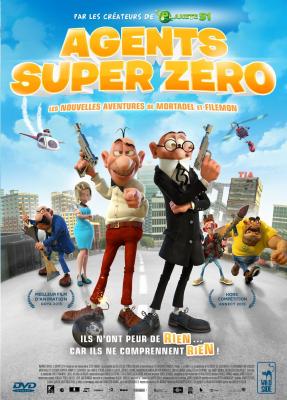 Agents super zéro : les nouvelles aventures de Mortadel et Filemon